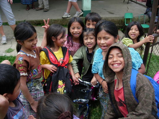 Children that benefit from the education opportunities provided!