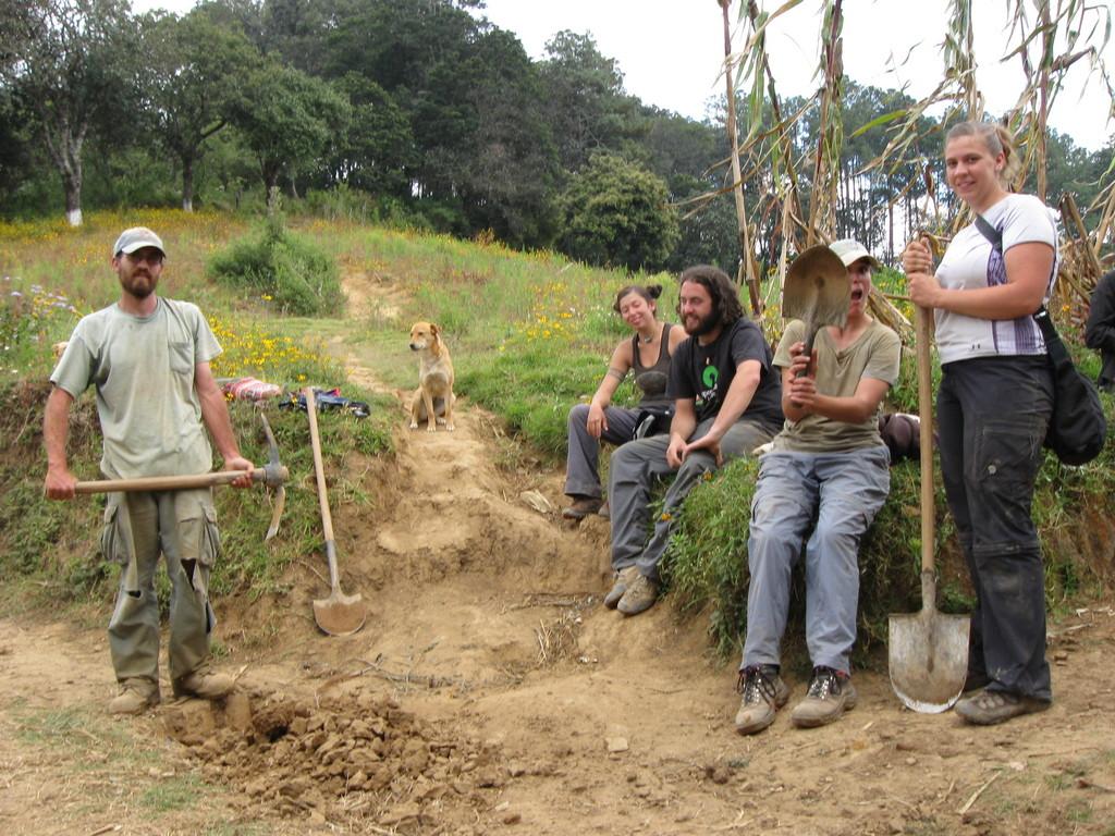 Water line for tenico Maya School