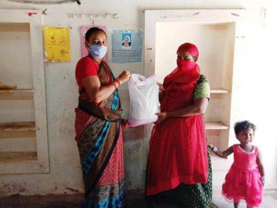 Relief kit to Aathika's family