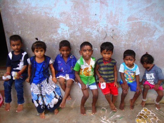 Children in the early learning centre