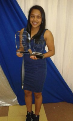 Our Young Star Collects Awards