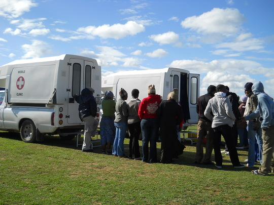 Mobile Testing Clinics at the VCT Tournament