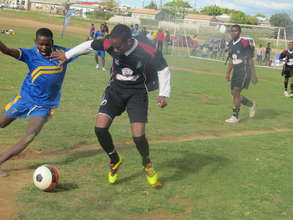 Ntando in action at the VCT Tournament