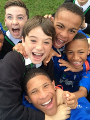 Selfie Time at Ripley Court School