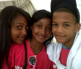 Kaylin, Kyra and Numaan
