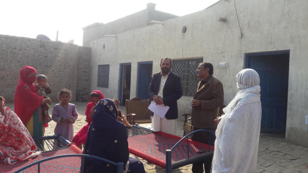 Abdul Rub Farooqi awareness raising