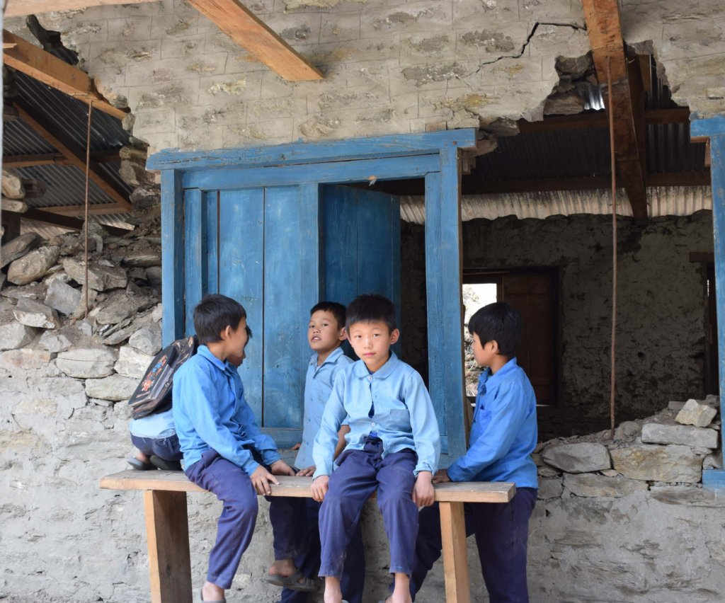 Build classrooms for 250 children in Nepal.