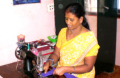 Sewing training to 30 poor women