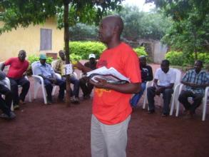 Community sensitisation on project