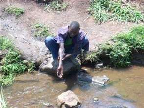 Current community water source in Naminya