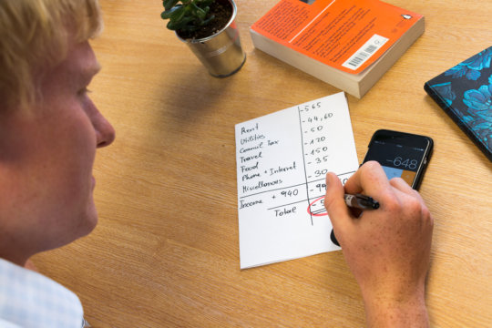 Budgeting is essential for care leavers