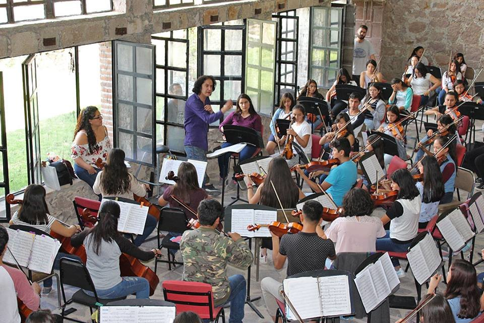 MUVI Orchestra rehearsal