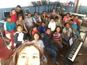 Penasco's choir