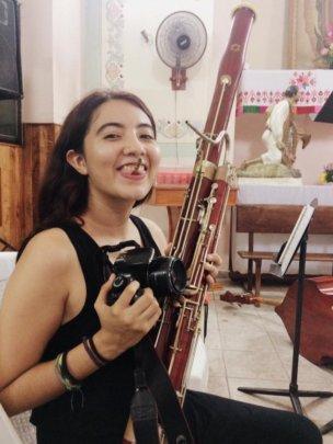 Teresita, cello student