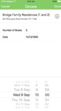 New app calendar scheduling system