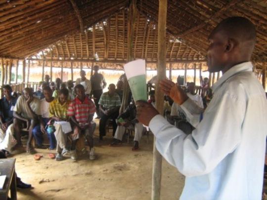ISDR student speak at agroforestry workshop