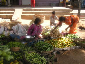 Vegetable selling fetches good income