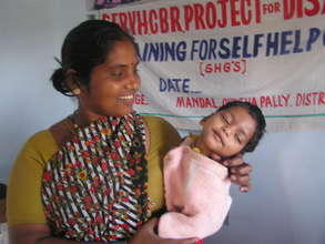 Livelihood for 500 Disabled mothers in India