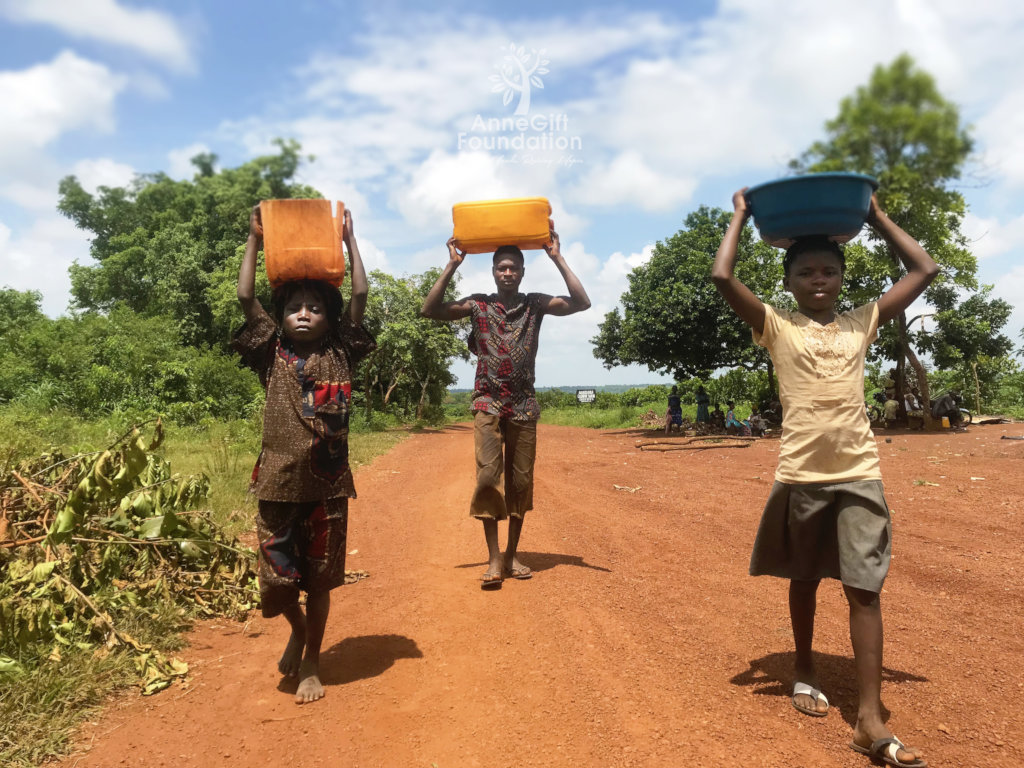 Provide drinkable water for 2 villages of  1,000.
