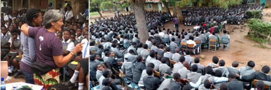 A Girls Conference in Chwele