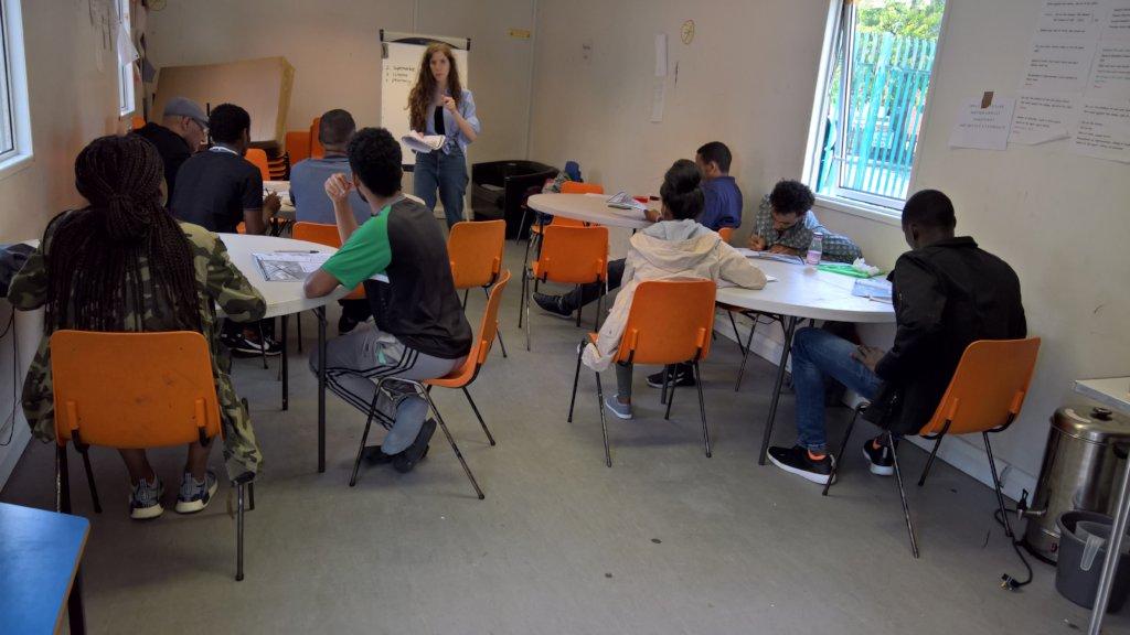 Service Users at  Skills Training