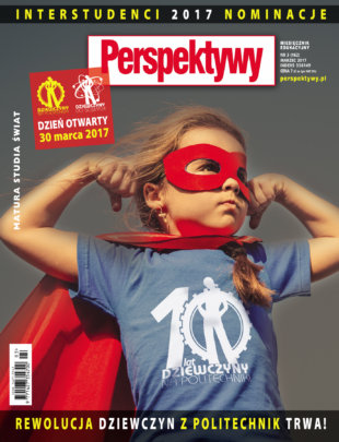 """Cover of special issue of """"Perspektywy"""" magazine"""