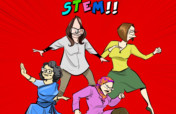 Biographical comicbook featuring STEM Women!