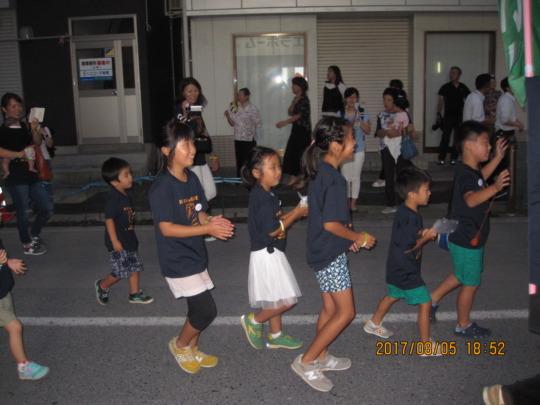 Picture 4: Dancing in Kamaishi Yoisa