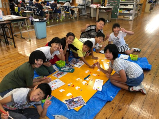 Picture 2: Children Drawing Pictures