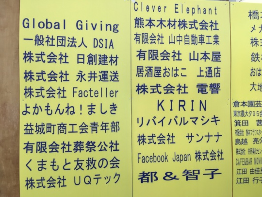 Picture 6: DSIA and GlobalGiving Acknowledged
