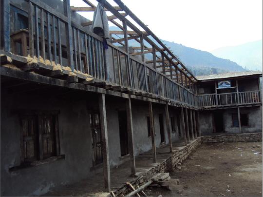 Mahakali Lower Secondary School before renovations