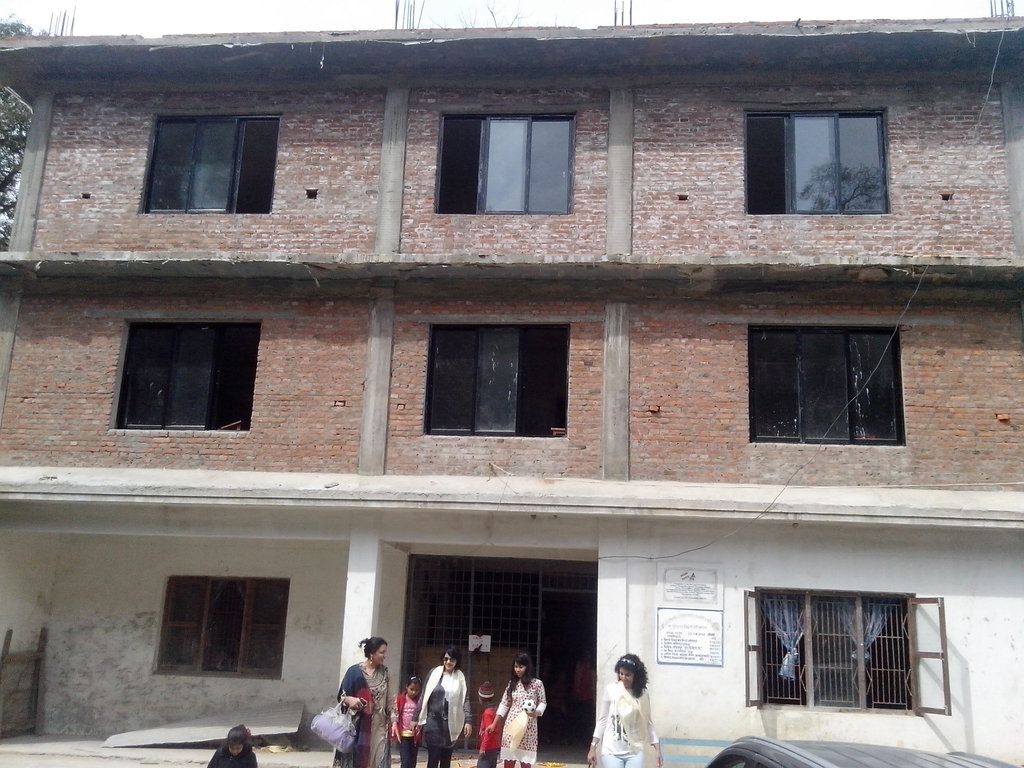 We helped finish the 3rd floor of this school