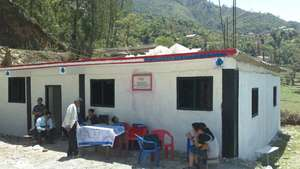 Finished school building