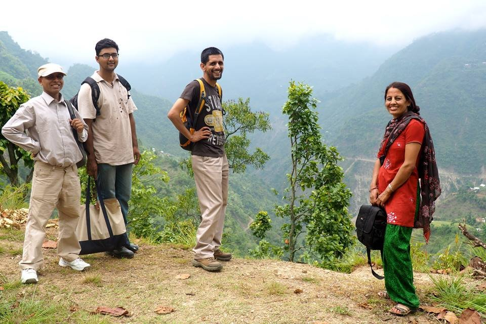 Our team in Nepal