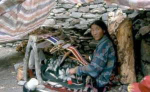 Weaving cloth