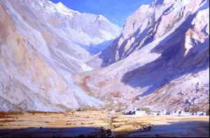 Halji MHP - A painting by James Hart Dyke