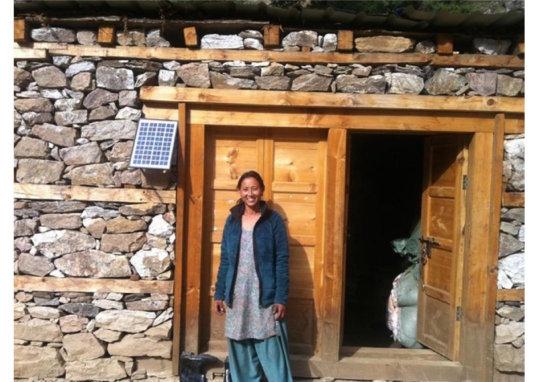 Installing Solar Lamps in teashops