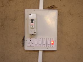 Service Centre 3-phase wiring