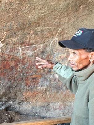 The petroglyphs of the Miracle Cave