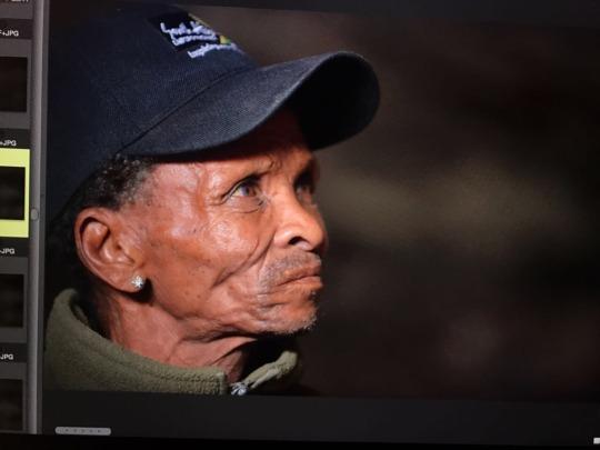 Bushmen Healer in the Miracle Cave of Kuruman