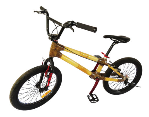 Our new model: BMX bamboo bike