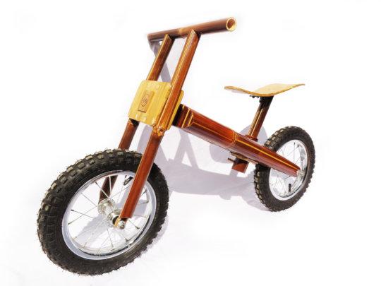 Our new prototype: Balance bamboo bike