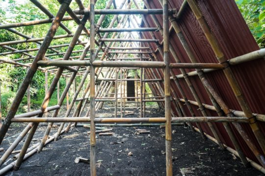 Bamboo A-frames - the details