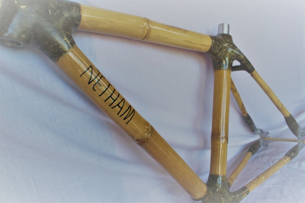 Completed City Bike frame