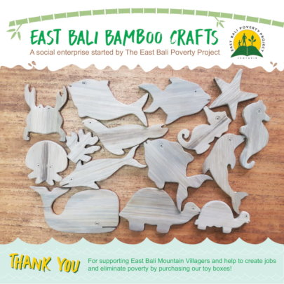 East Bali Bamboo Craft Toys Box Flyer