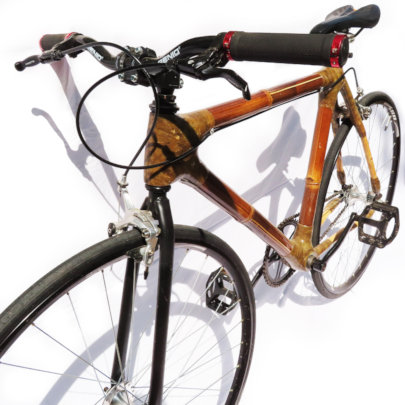 Our new model: Fixie bamboo bike
