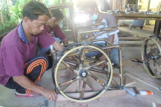 wheelchair bamboo