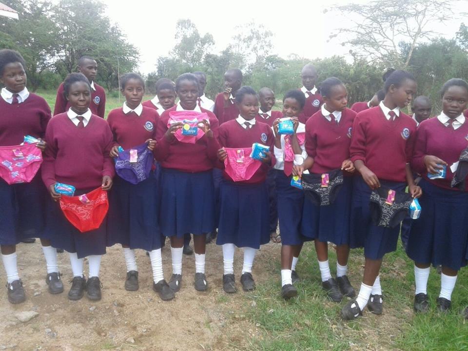 SANITARY TOWELS FOR GIRLS IN RURAL SCHOOLS