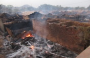 Emergency Relief for 250 fire victims in India