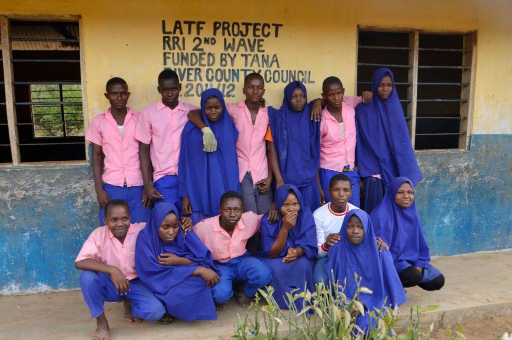 Graduating Class of Bubesa Primary School